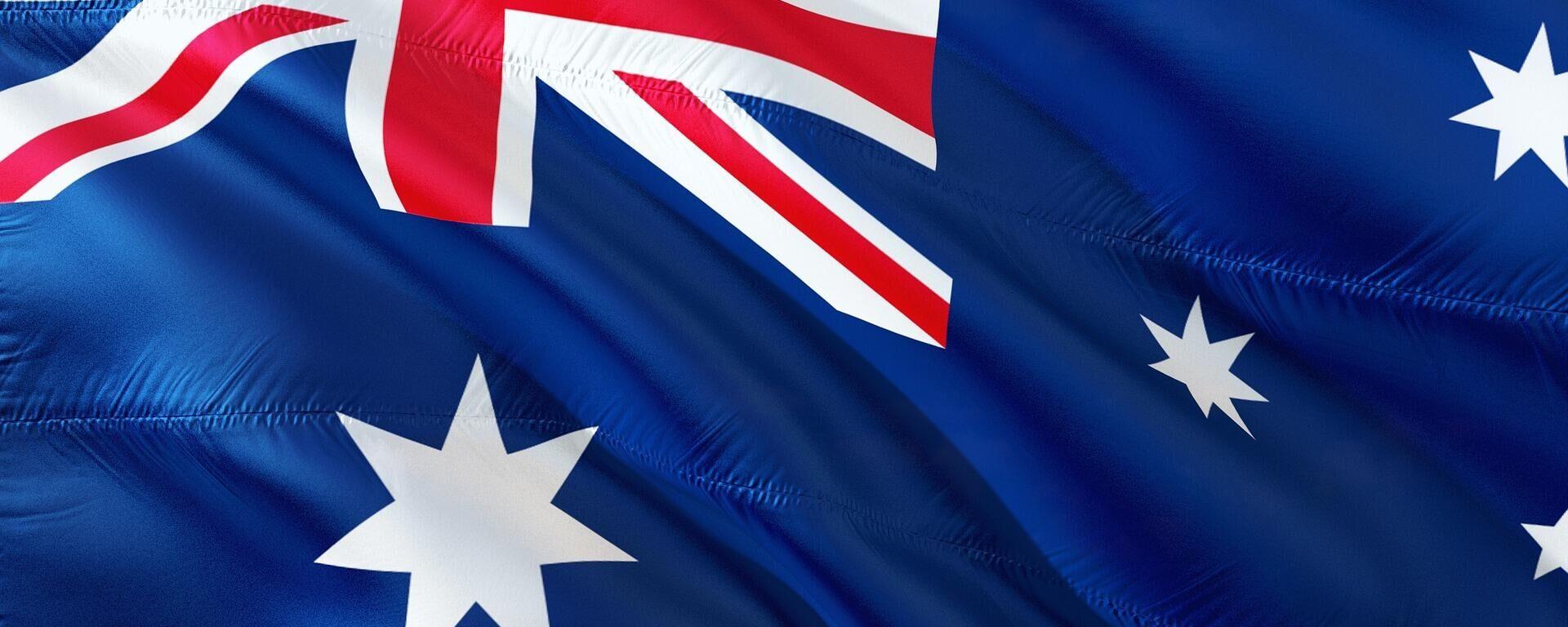 La bandera de Australia - Sputnik Mundo, 1920, 01.10.2021