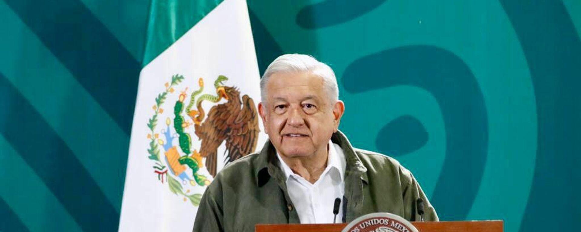 Andrés Manuel López Obrador, presidente de México - Sputnik Mundo, 1920, 01.10.2021