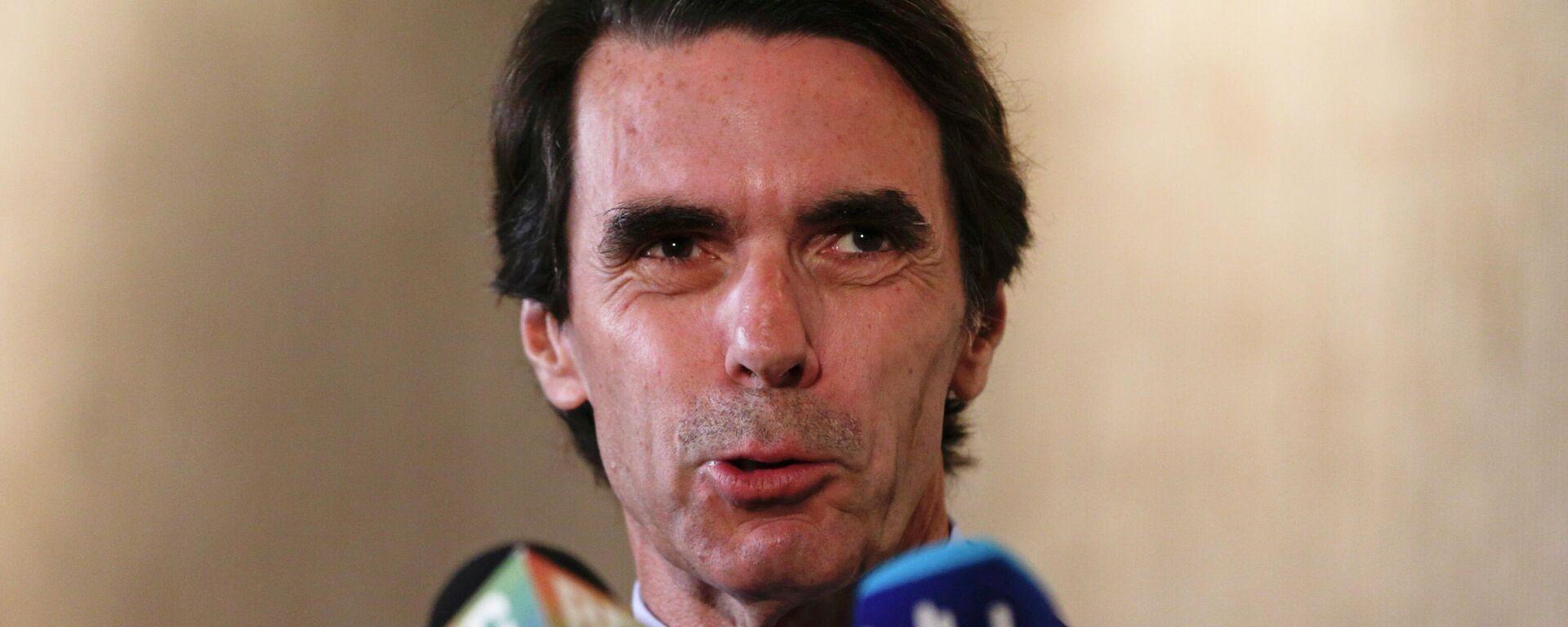 José María Aznar, expresidente del Gobierno de España  - Sputnik Mundo, 1920, 01.10.2021