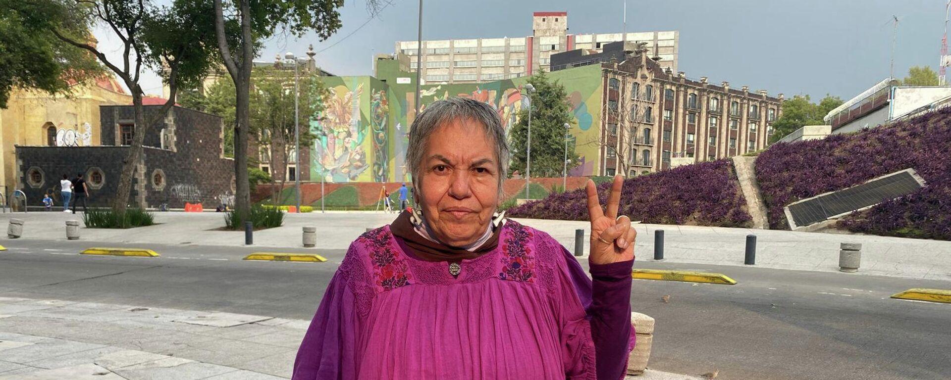 Ana Ignacia Rodríguez, líder estudiantil de movimiento del 68  - Sputnik Mundo, 1920, 02.10.2021