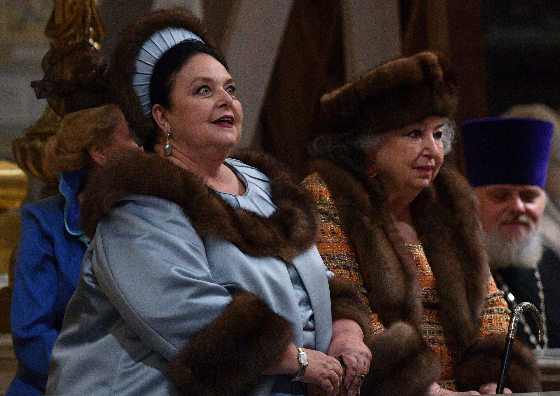 La gran duquesa María Vladímirovna Románova, madre de Jorge  - Sputnik Mundo, 1920, 02.10.2021