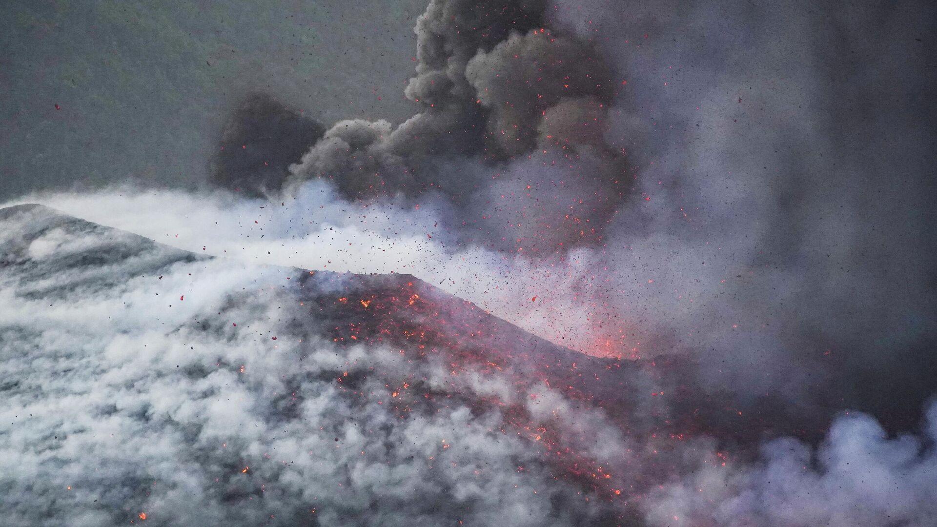Erupción del volcán en La Palma - Sputnik Mundo, 1920, 09.10.2021