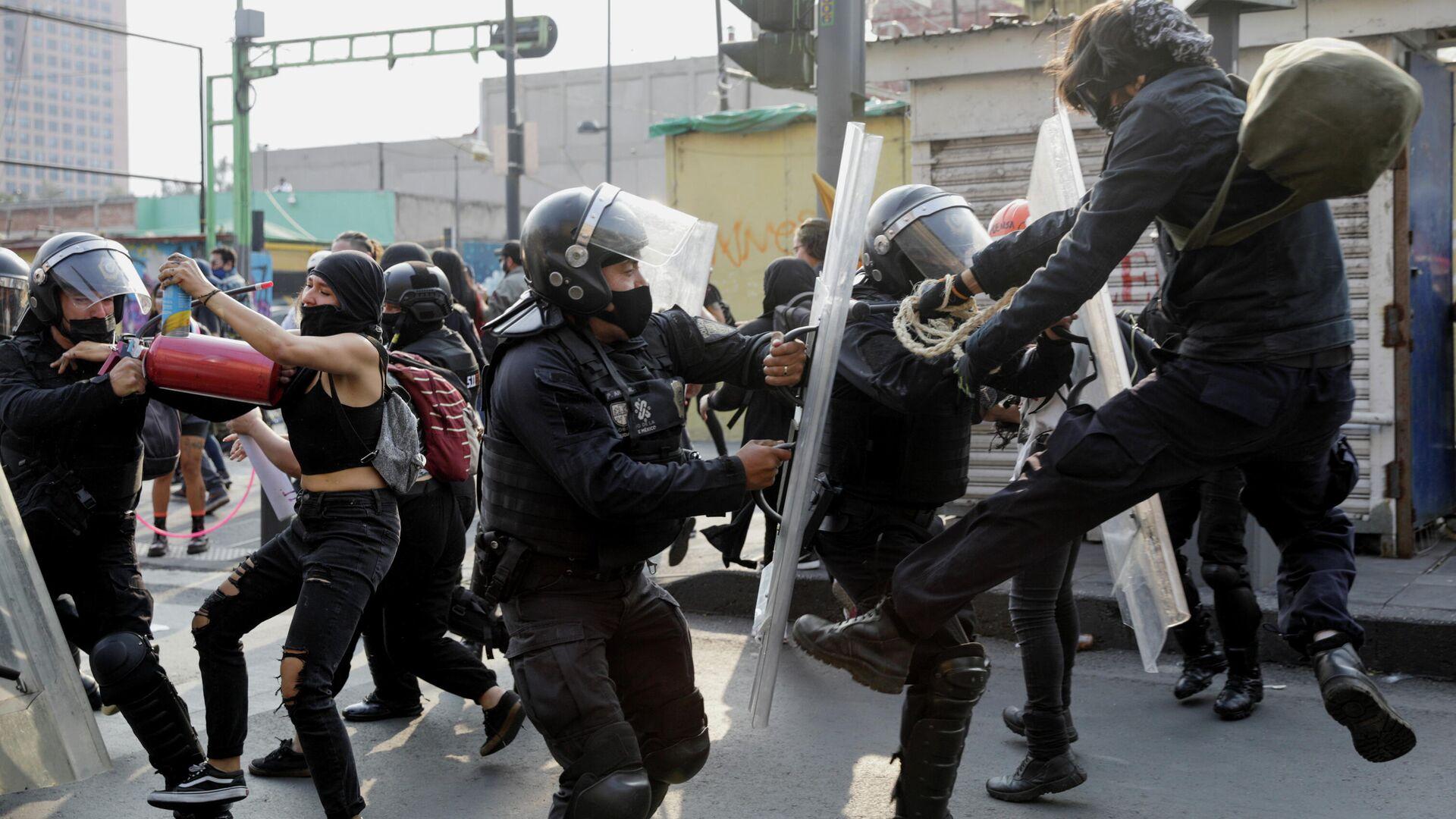 Disturbios en México - Sputnik Mundo, 1920, 03.10.2021