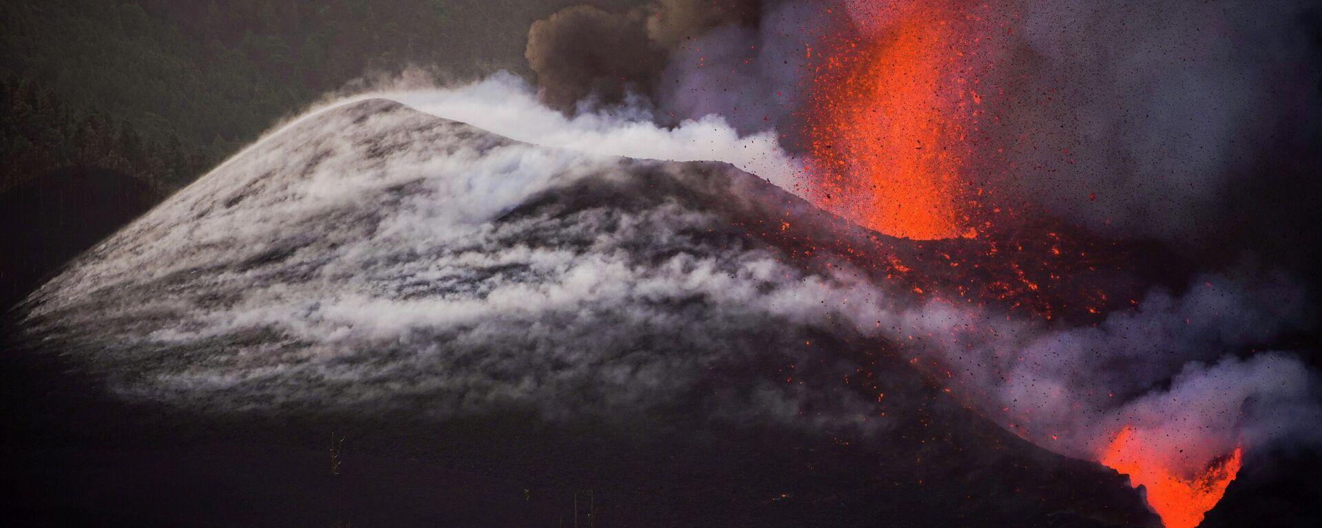 Erupción del volcán en La Palma - Sputnik Mundo, 1920, 08.10.2021