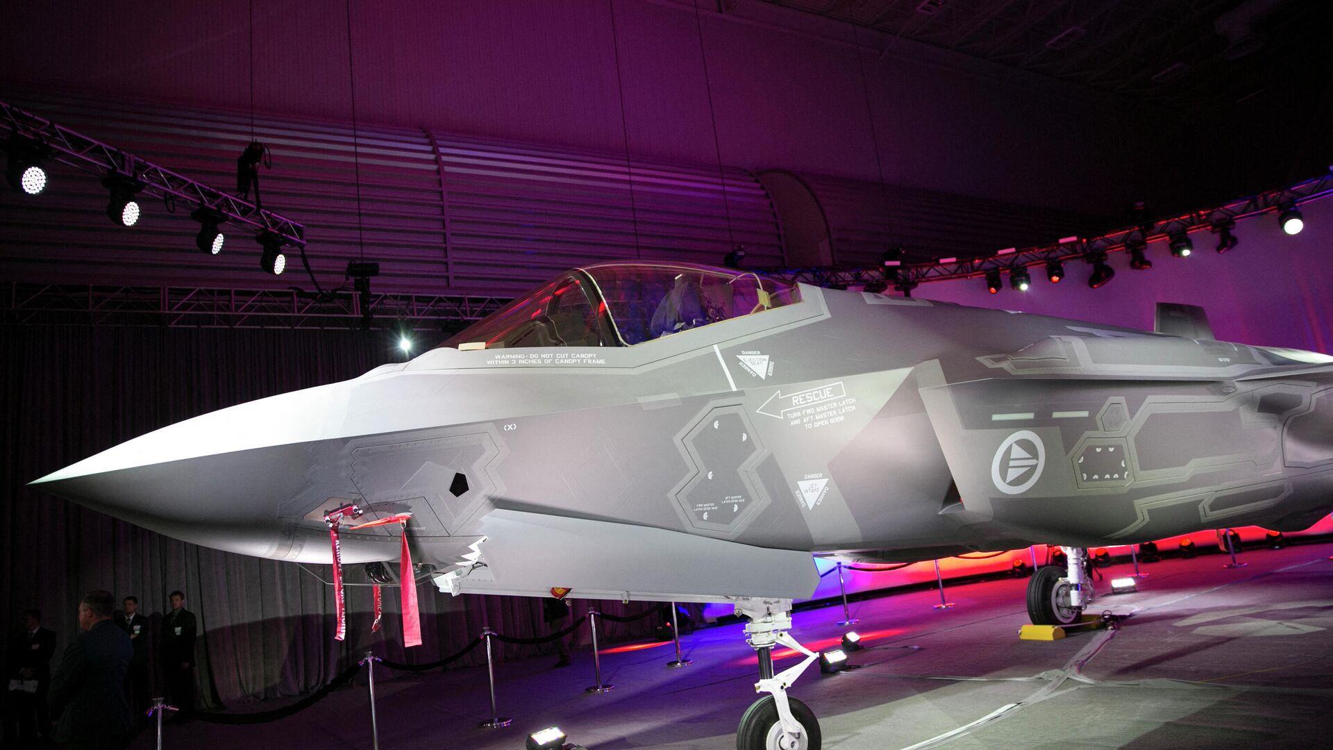 El primer F-35A Lightning II de la Fuerza Aérea de Noruega - Sputnik Mundo, 1920, 03.10.2021
