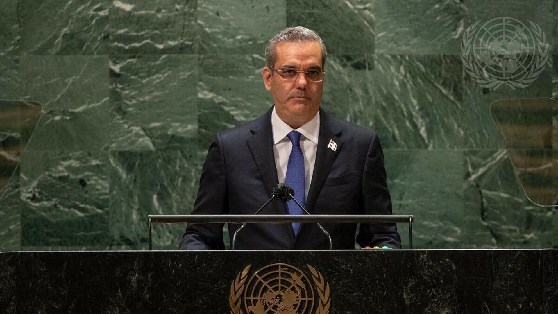 El presidente de República Dominicana, Luis Rodolfo Abinader Corona - Sputnik Mundo, 1920, 04.10.2021