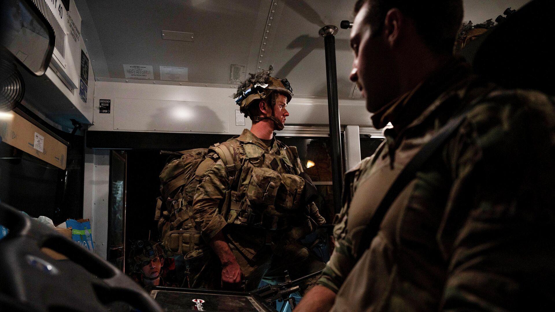 Militares estadounidenses abandonan Afganistán, el 31 de agosto de 2021 - Sputnik Mundo, 1920, 05.10.2021