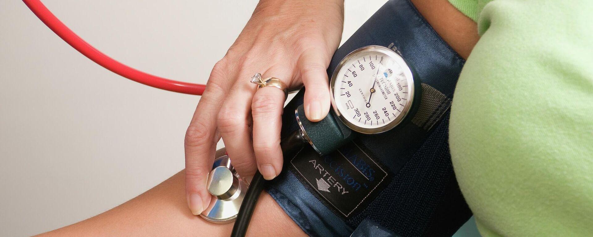 La presión arterial, imagen ilustrativa - Sputnik Mundo, 1920, 05.10.2021