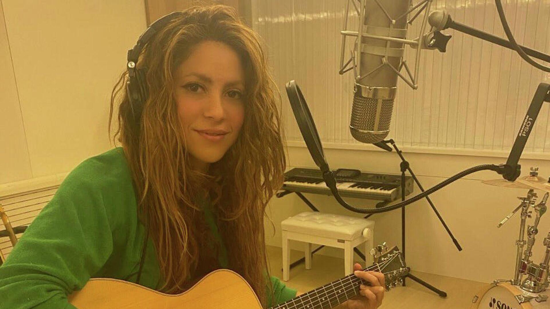 Shakira, cantante colombiana - Sputnik Mundo, 1920, 04.10.2021