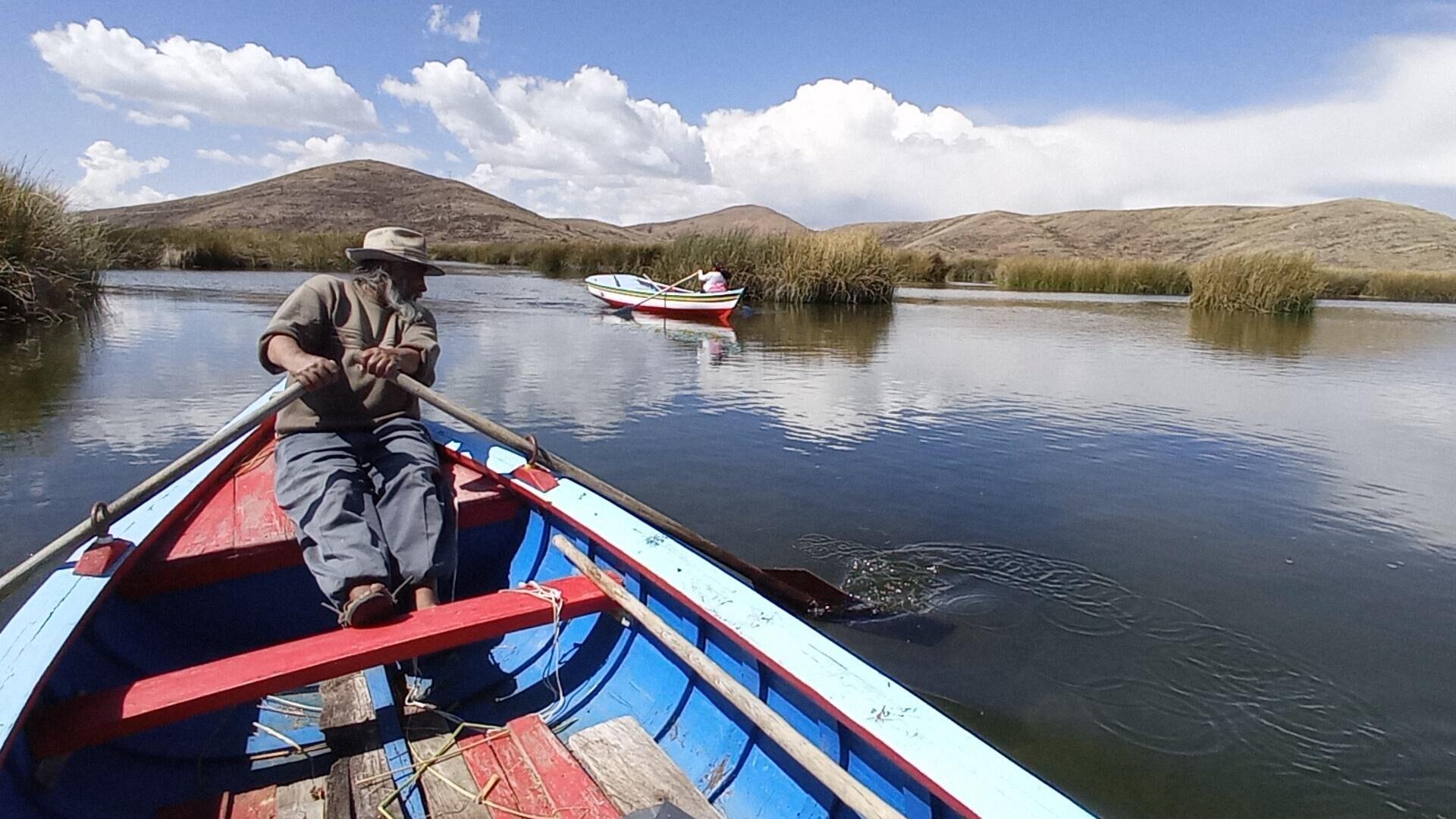 Armando Calizaya, pescador de la isla Pariti en el lago Titicaca - Sputnik Mundo, 1920, 05.10.2021