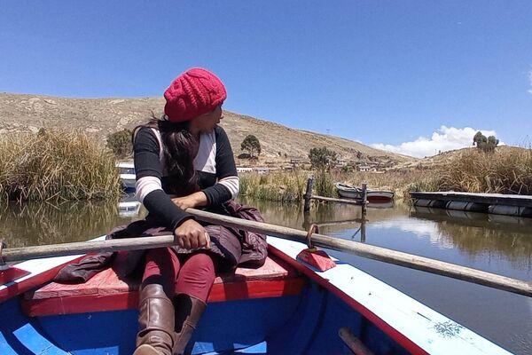 Isla Pariti, en el lago Titicaca - Sputnik Mundo
