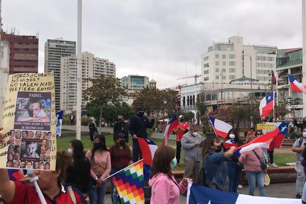Marcha antiinmigración en Iquique - Sputnik Mundo