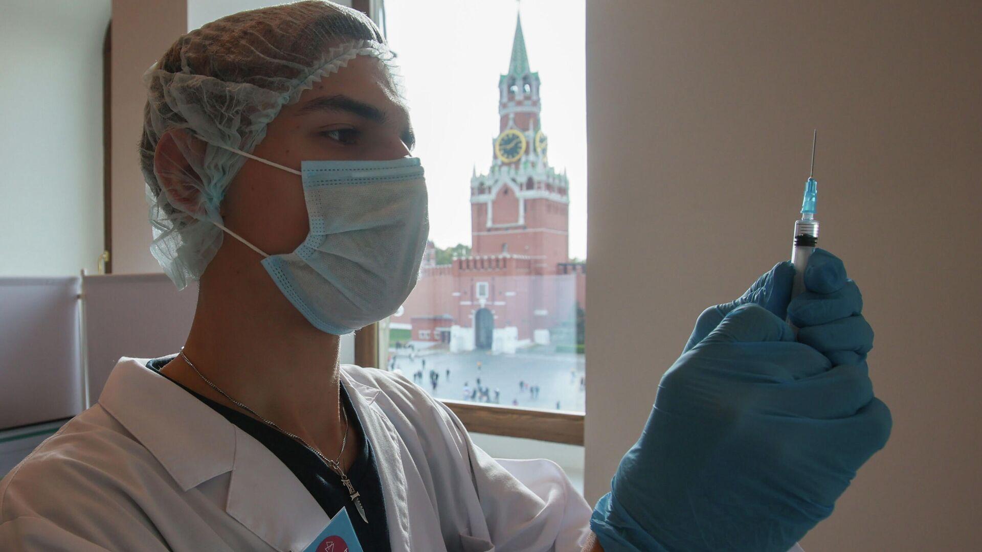 La vacunación contra el COVID en Moscú - Sputnik Mundo, 1920, 05.10.2021