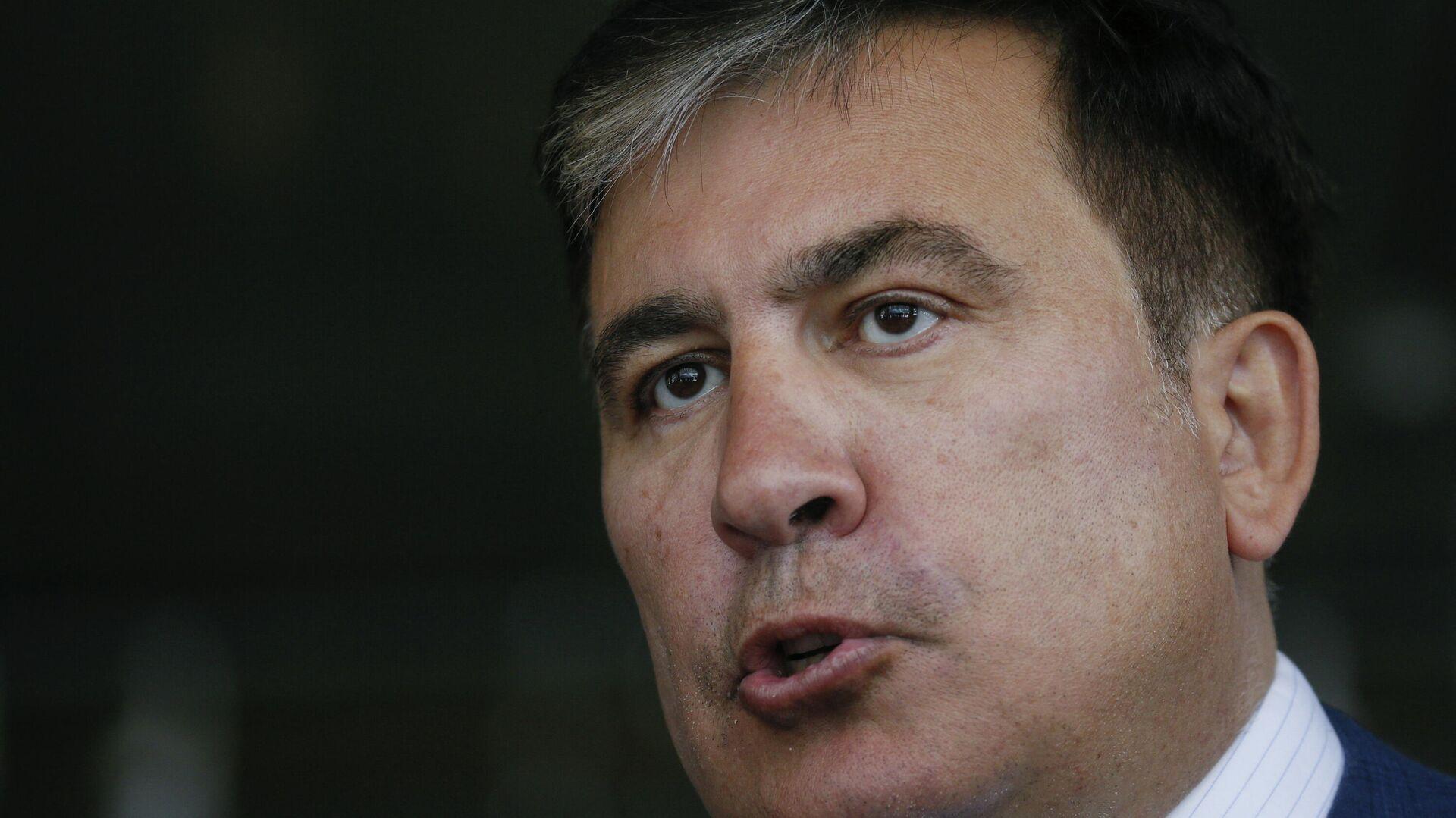 Mijal Saakashvili,  expresidente georgiano  - Sputnik Mundo, 1920, 05.10.2021