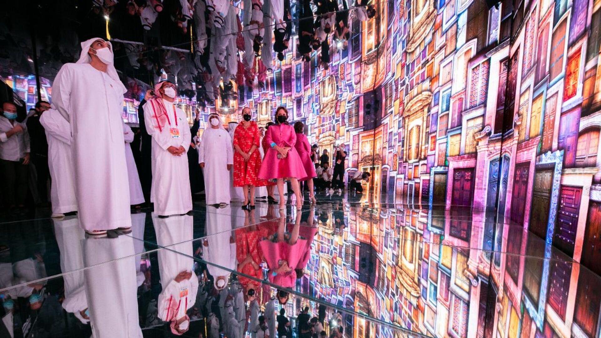 Inauguración de un pabellón de México en la Expo Dubái - Sputnik Mundo, 1920, 05.10.2021