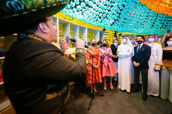 Inauguración de un pabellón de México en la Expo Dubái - Sputnik Mundo