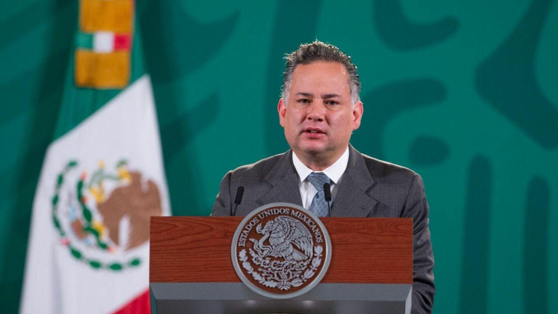 Santiago Nieto, titular de la Unidad de Inteligencia Financiera mexicana  - Sputnik Mundo, 1920, 05.10.2021