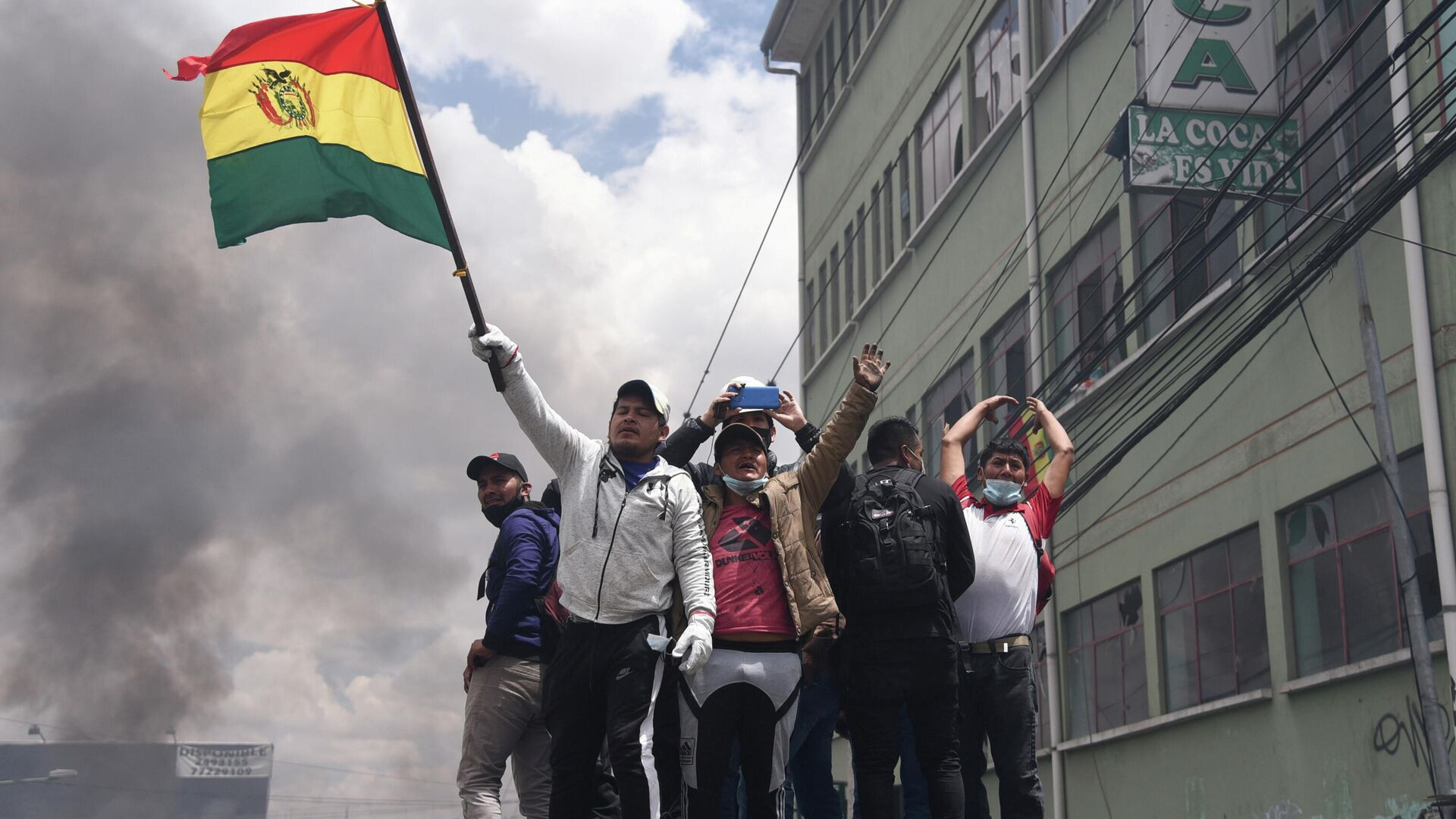 El paro nacional en Bolivia - Sputnik Mundo, 1920, 05.10.2021