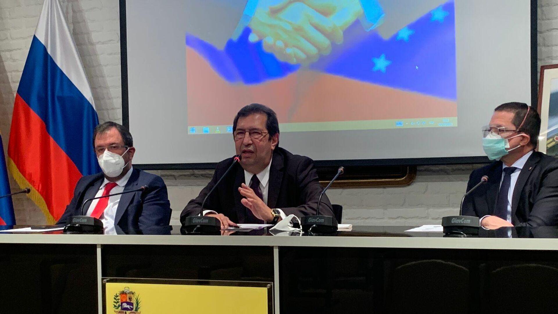 Adán Chávez, enviado especial de la presidencia venezolana - Sputnik Mundo, 1920, 05.10.2021