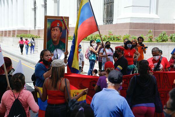 Pobladores exigen en las calles de Caracas poner fin a la criminalización de los ocupantes de inmuebles desocupados - Sputnik Mundo