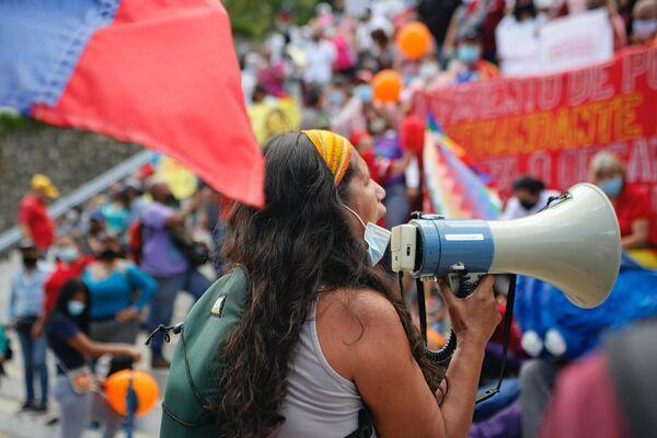 Pobladoras y pobladores exigen que se respete el marco jurídico vigente para proteger el derecho a la vivienda - Sputnik Mundo