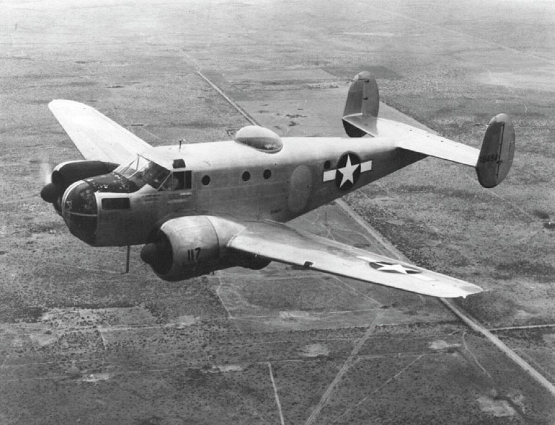 Un Beechcraft AT-11 - Sputnik Mundo, 1920, 05.10.2021