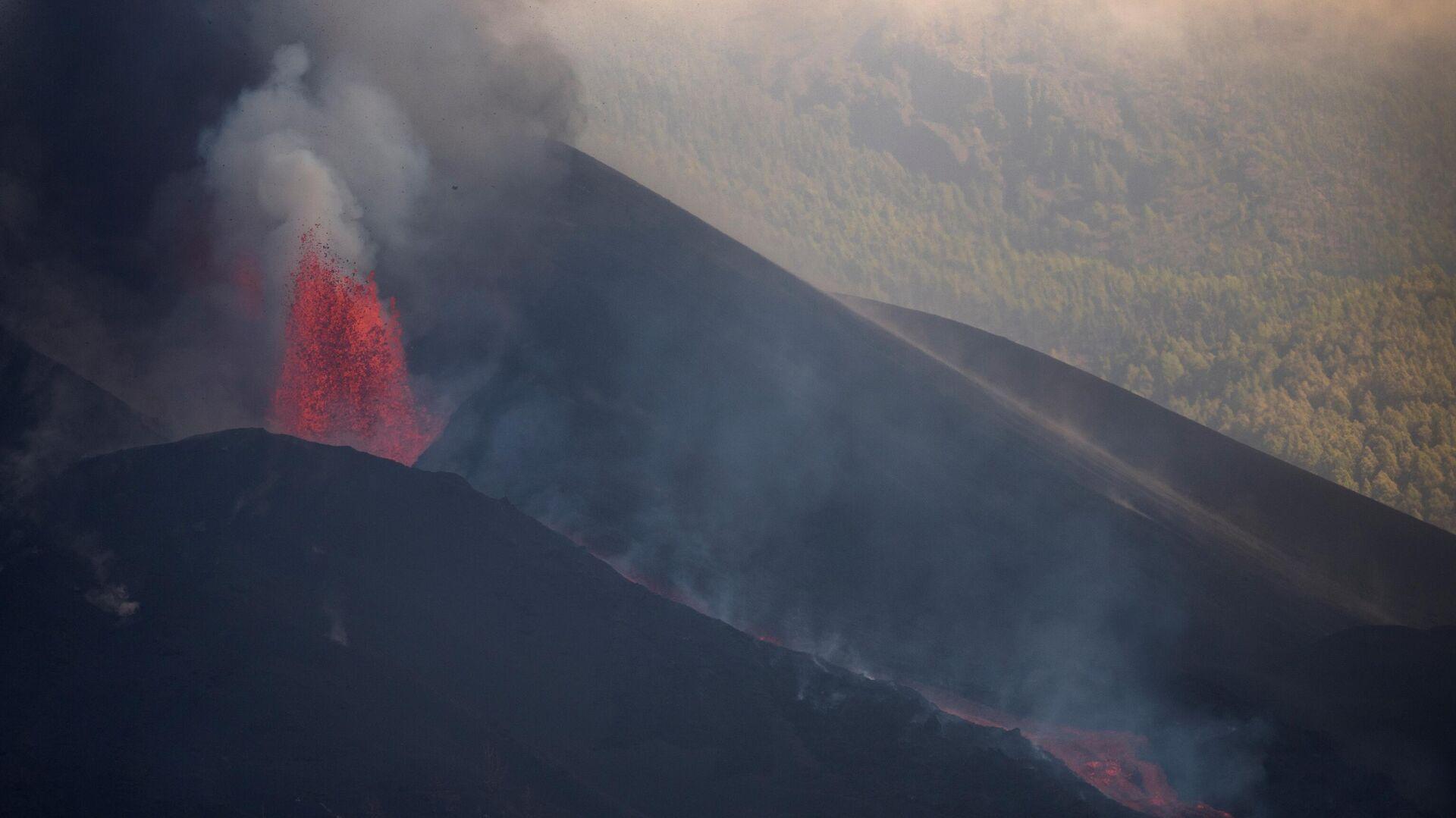 Erupción del volcán de Cumbre Vieja (La Palma) - Sputnik Mundo, 1920, 08.10.2021