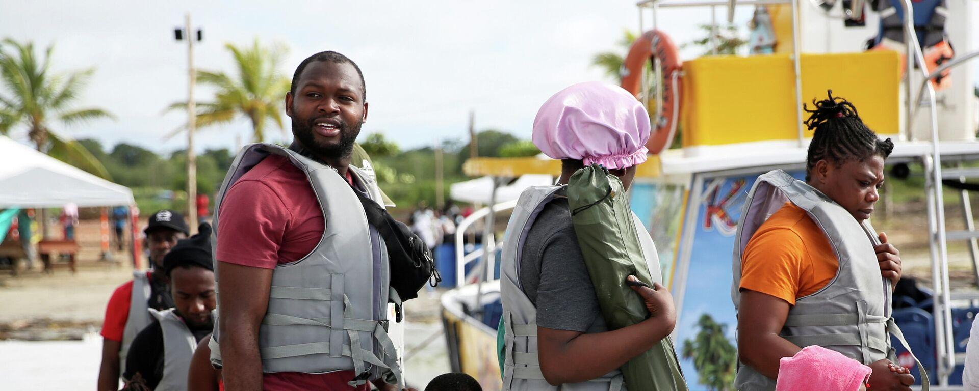 Migrantes haitianos - Sputnik Mundo, 1920, 06.10.2021