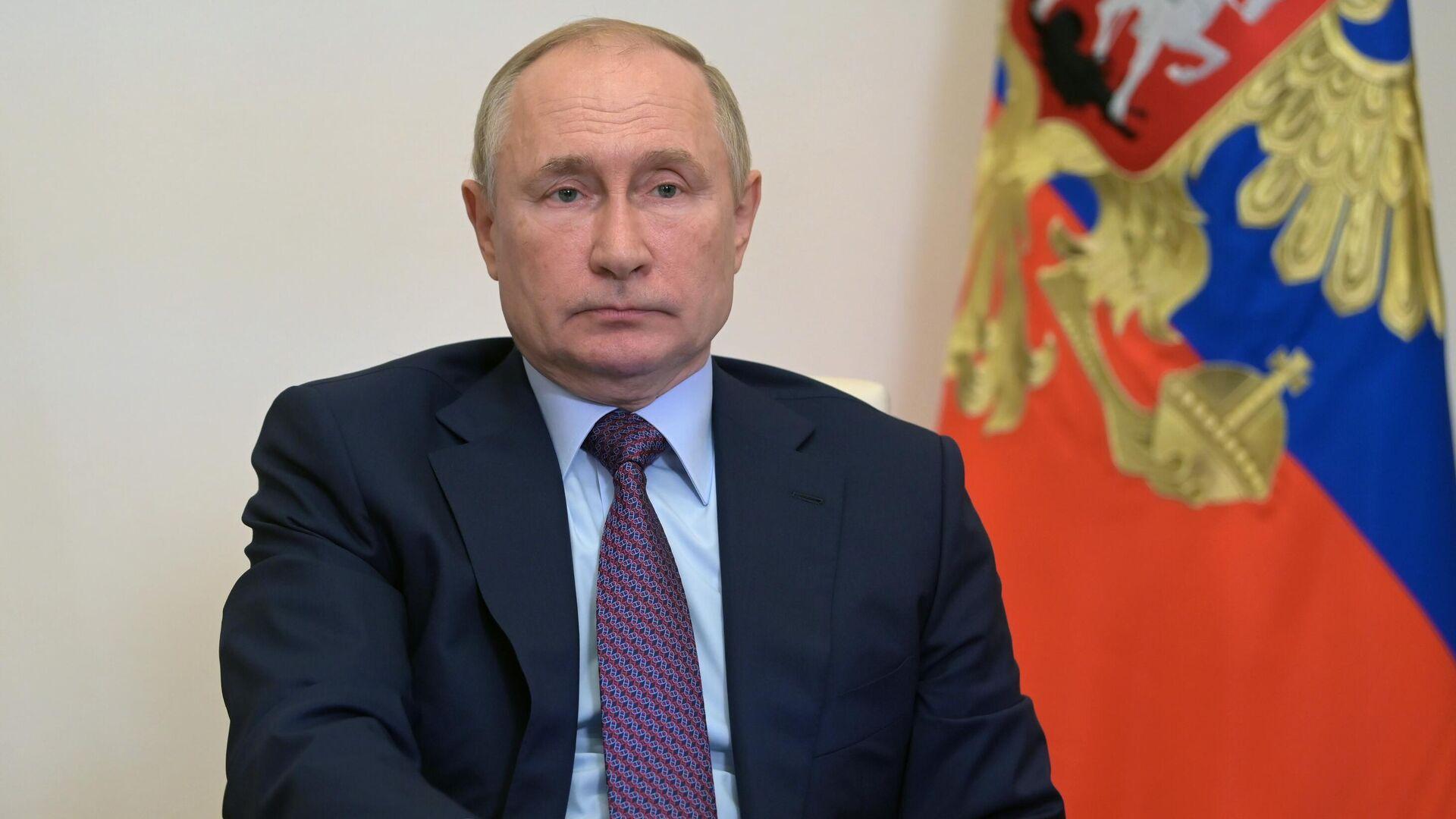 Vladímir Putin, presidente de Rusia - Sputnik Mundo, 1920, 06.10.2021