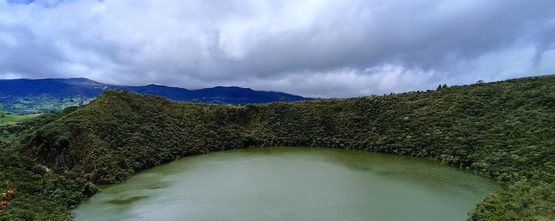 Laguna de Guatavita en el municipio de Sesquilé, Cundinamarca - Sputnik Mundo, 1920, 06.10.2021