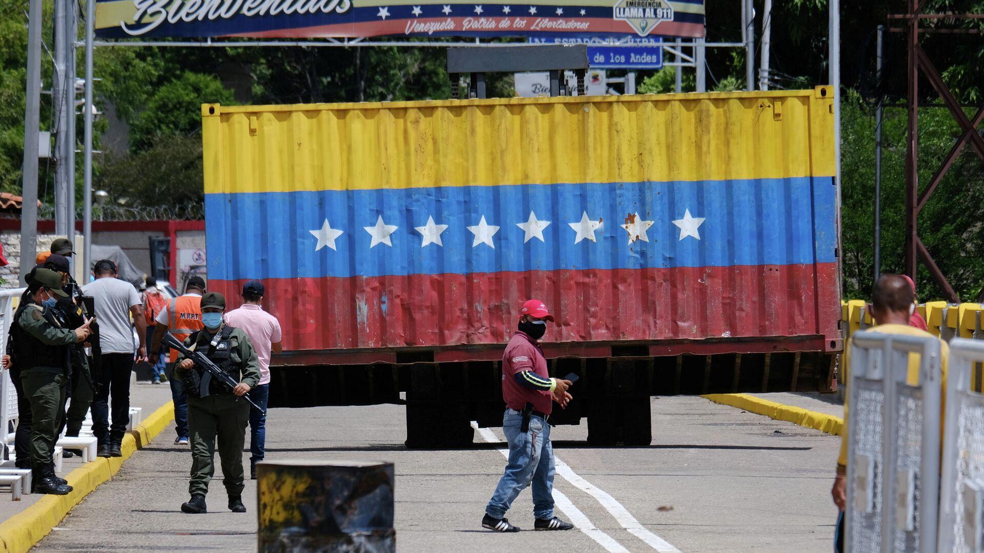 Apertura de frontera entre Colombia y Venezuela - Sputnik Mundo, 1920, 06.10.2021