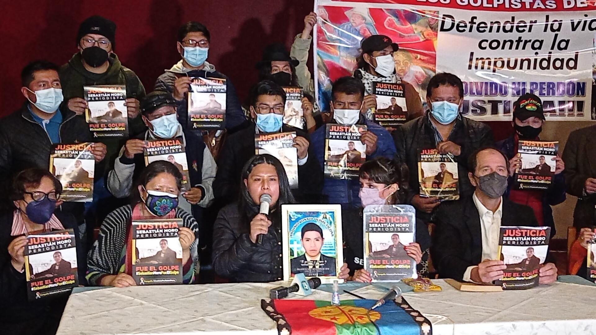 Lanzamiento de la campaña internacional para exigir justicia por la muerte de Sebastián Moro - Sputnik Mundo, 1920, 07.10.2021