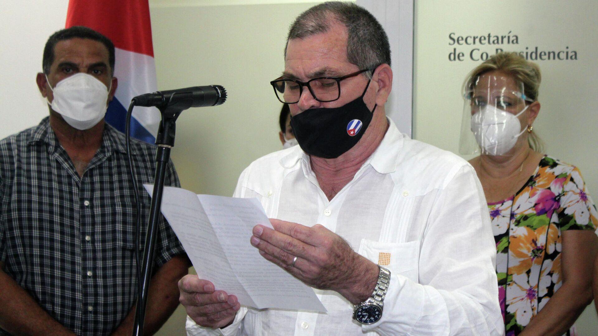 Inocente Núñez Blanco, copresidente de la empresa cubano-española Habanos S.A. - Sputnik Mundo, 1920, 06.10.2021