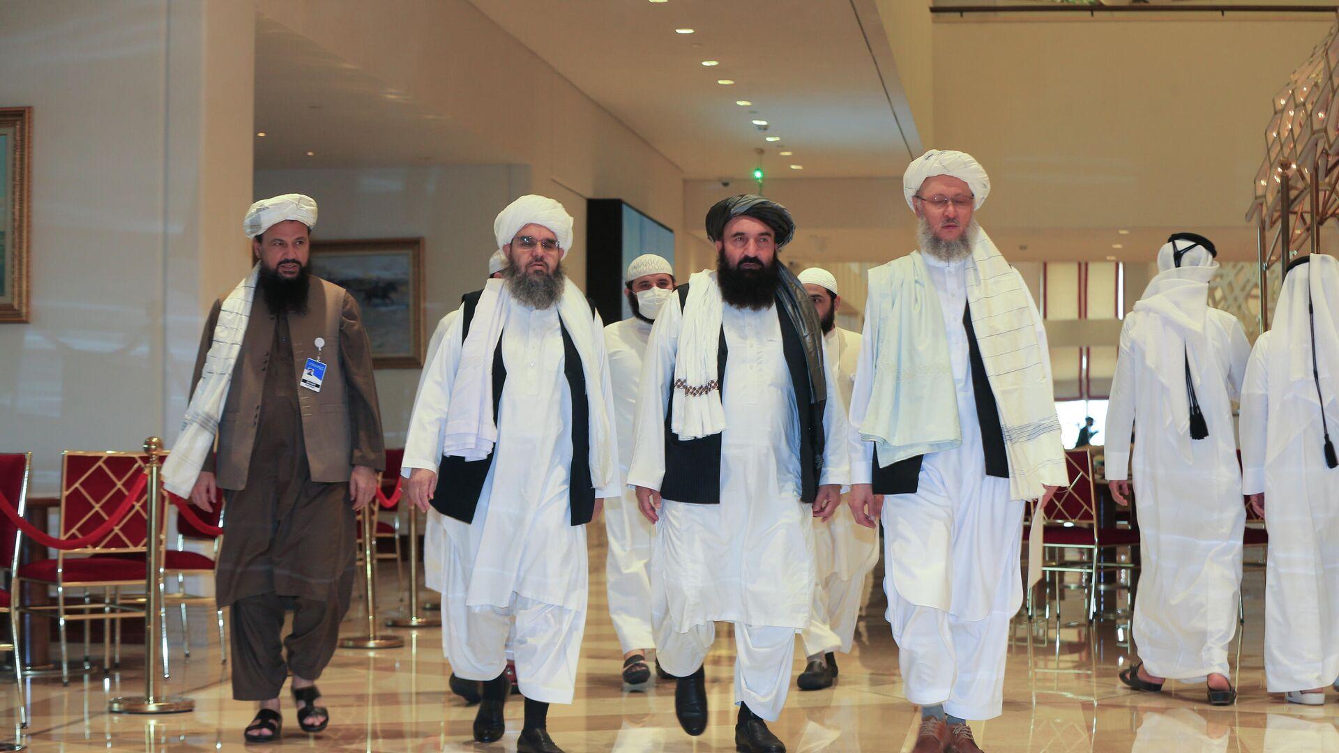 Una delegación de los talibanes - Sputnik Mundo, 1920, 11.10.2021