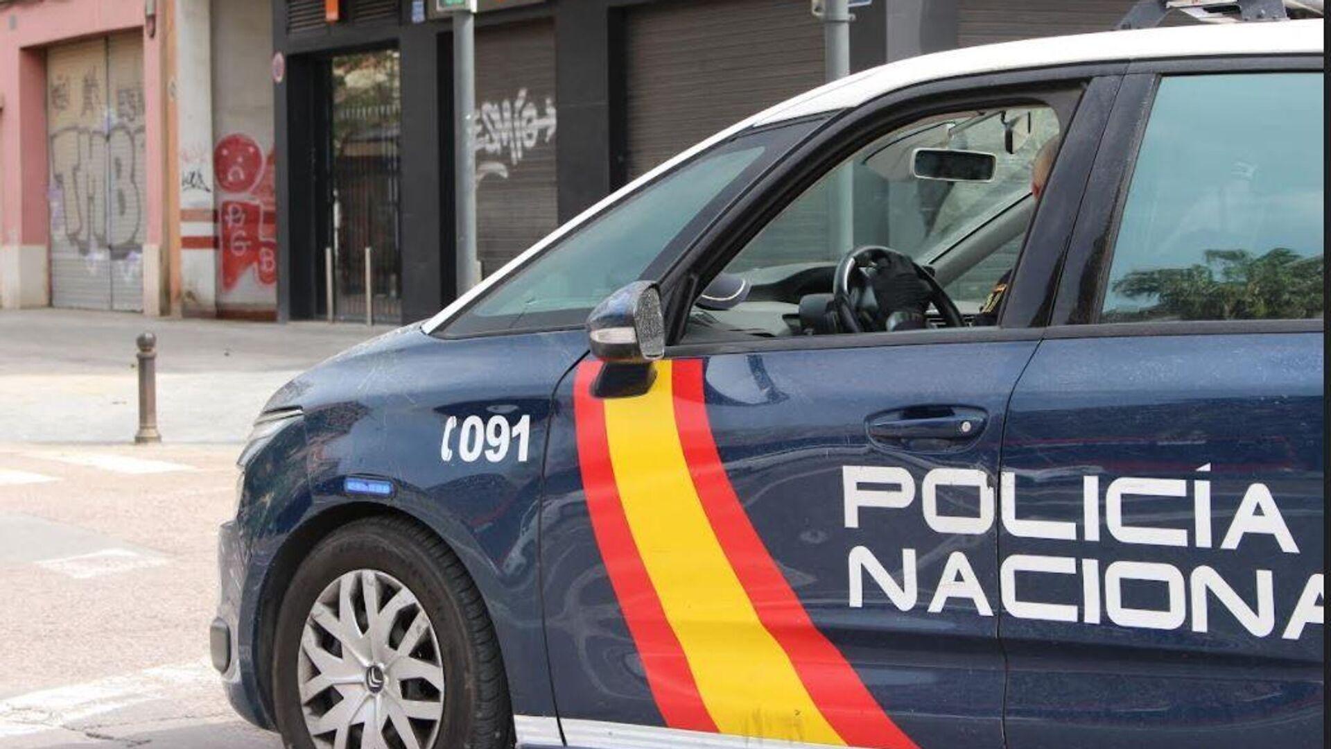 La Policía Nacional de España en Madrid - Sputnik Mundo, 1920, 07.10.2021
