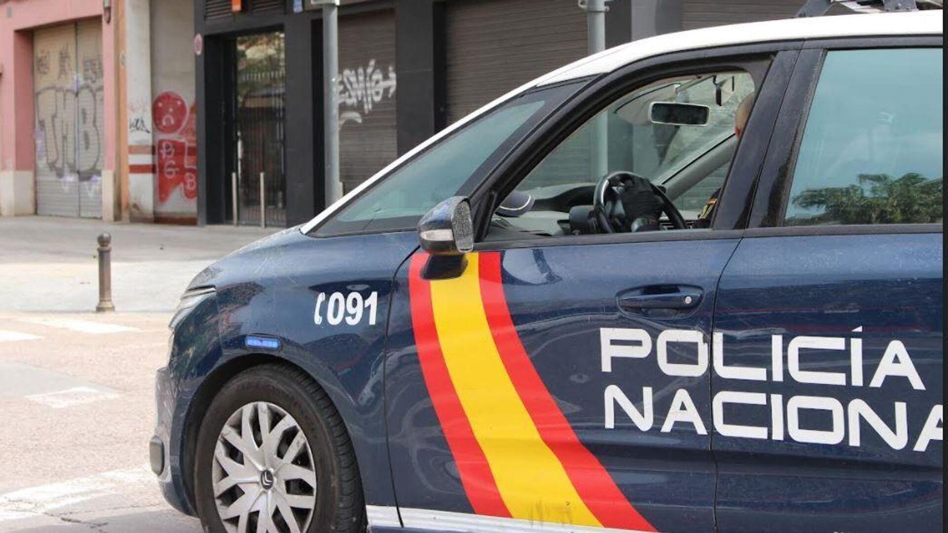 La Policía Nacional de España en Madrid - Sputnik Mundo, 1920, 13.10.2021