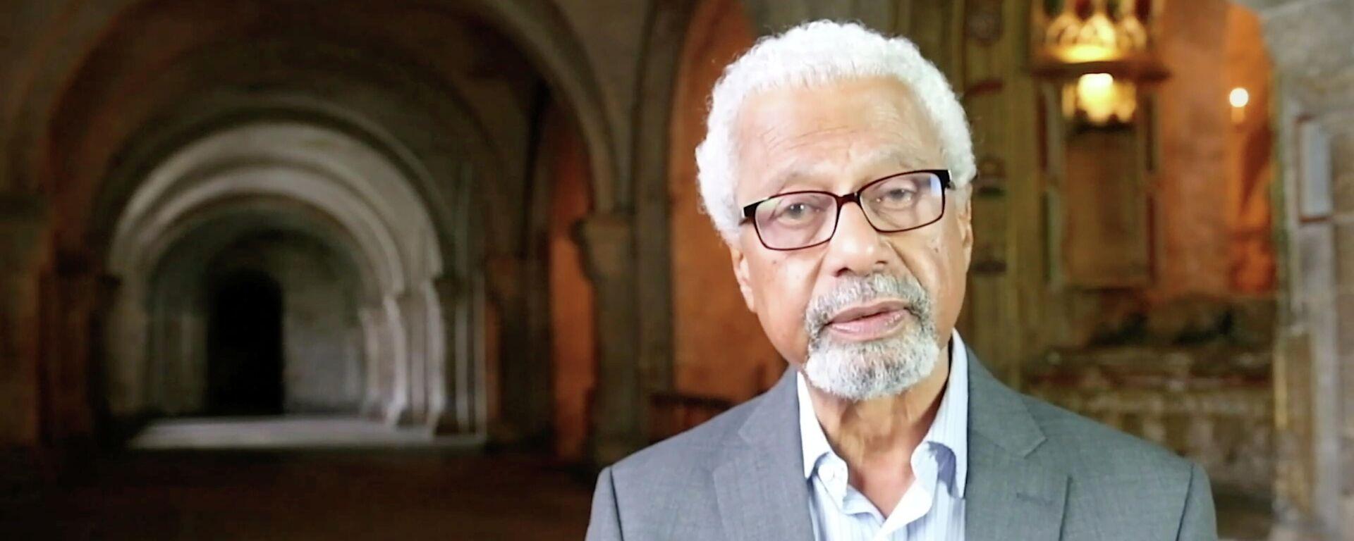 Abdulrazak Gurnah, novelista tanzano, quien recibió el Premio Nobel de Literatura 2021 - Sputnik Mundo, 1920, 07.10.2021