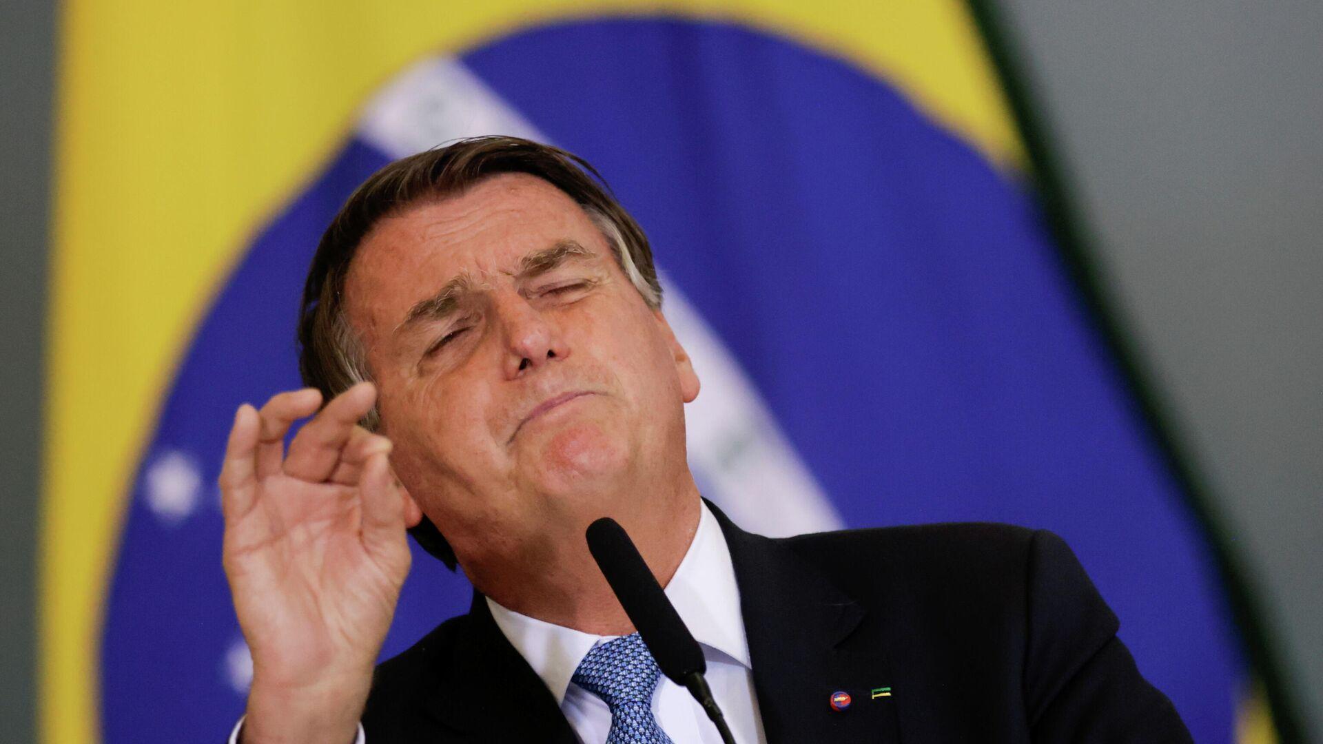 Jair Bolsonaro, presidente de Brasil - Sputnik Mundo, 1920, 07.10.2021