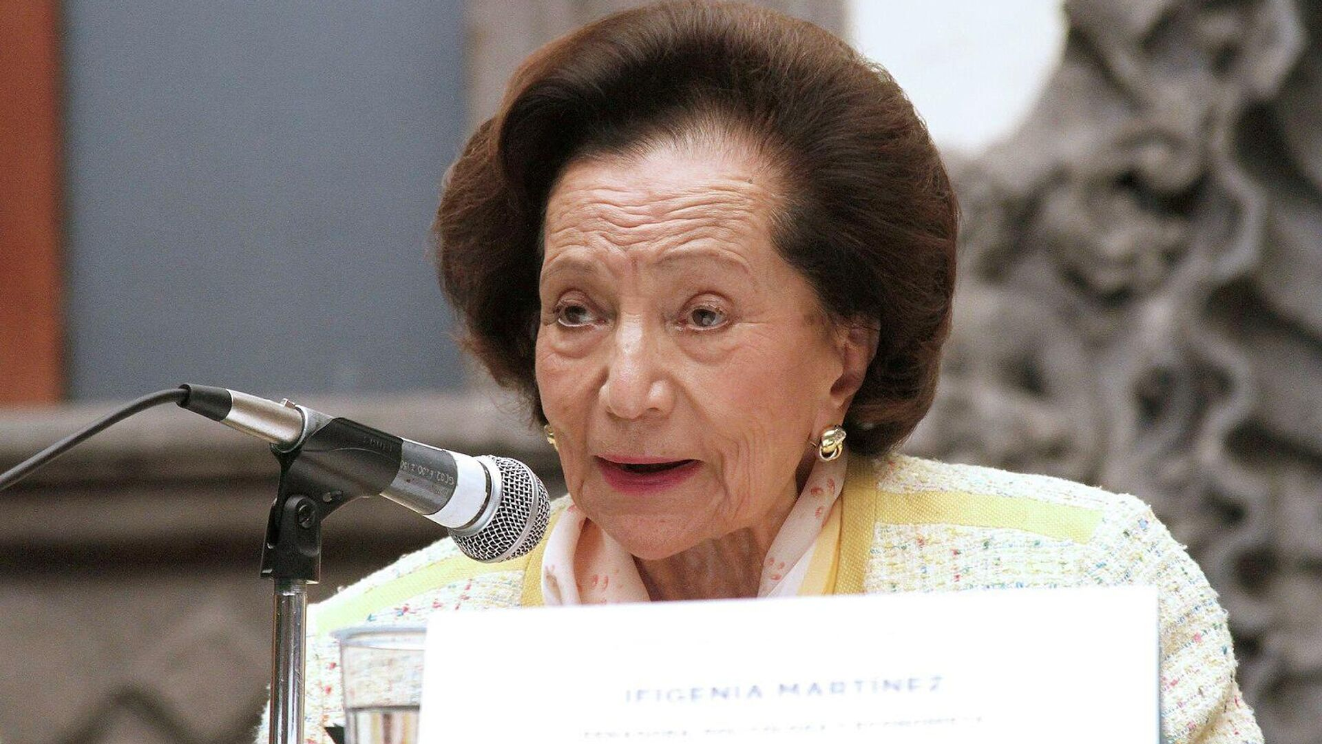 Ifigenia Martínez, senadora mexicana - Sputnik Mundo, 1920, 07.10.2021