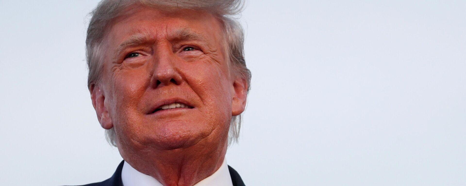 Donald Trump, expresidente de EEUU - Sputnik Mundo, 1920, 08.10.2021