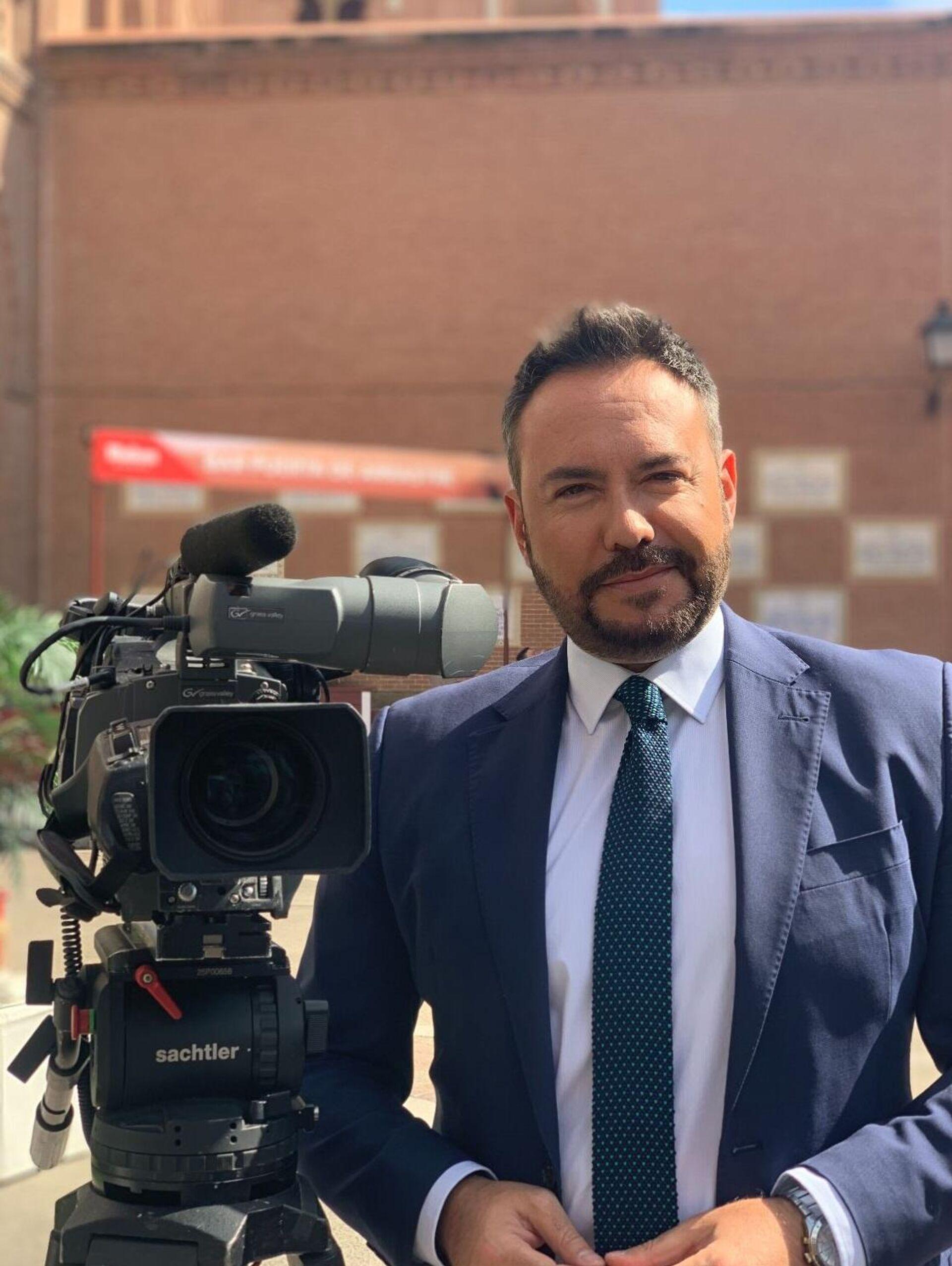 José Germán Estela, el presentador del Canal Toros de Movistar+ - Sputnik Mundo, 1920, 08.10.2021