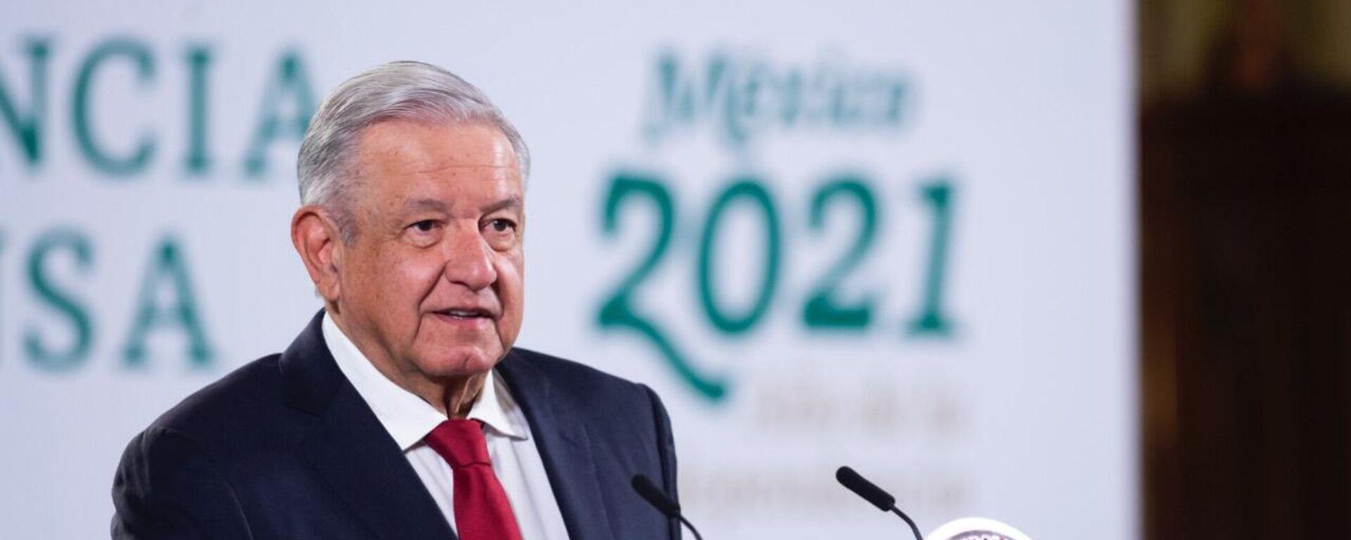 Andrés Manuel López Obrador, presidente de México - Sputnik Mundo, 1920, 08.10.2021