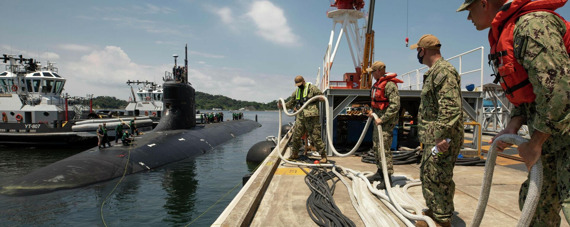 El submarino USS Connecticut (SSN 22) - Sputnik Mundo, 1920, 08.10.2021