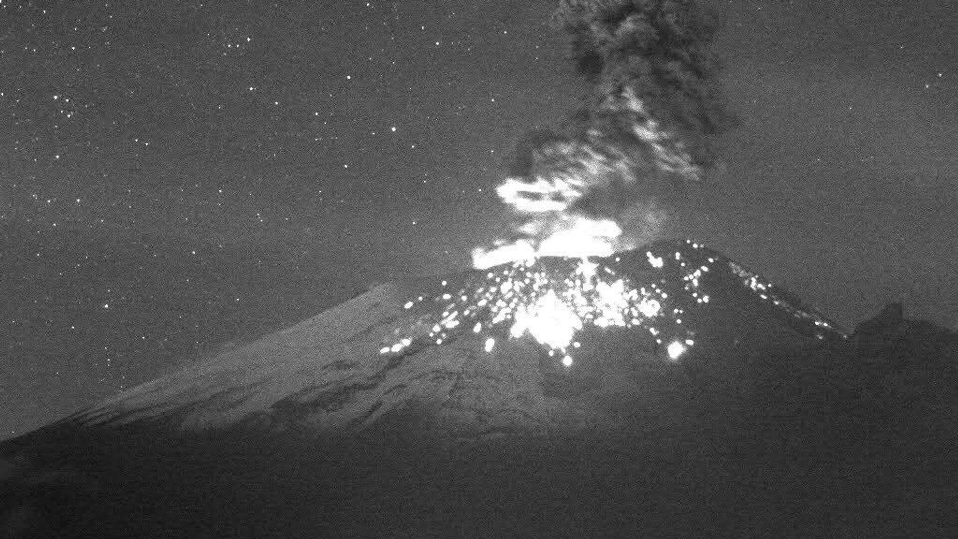 Volcán Popocatépetl en México - Sputnik Mundo, 1920, 08.10.2021