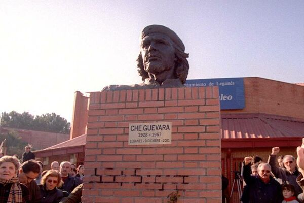 Busto en Leganés, Comunidad de Madrid, España. - Sputnik Mundo