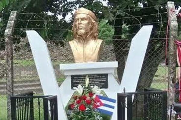 Busto al Che Guevara. Chalchuapa, El Salvador. - Sputnik Mundo