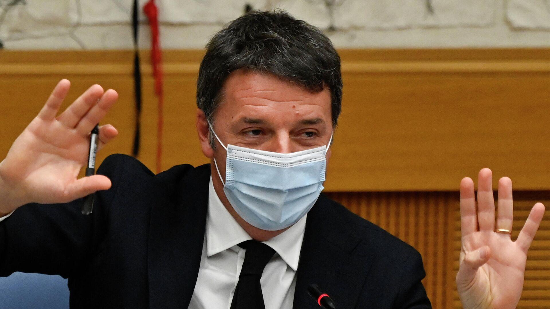 Matteo Renzi, ex primer ministro italiano  - Sputnik Mundo, 1920, 08.10.2021