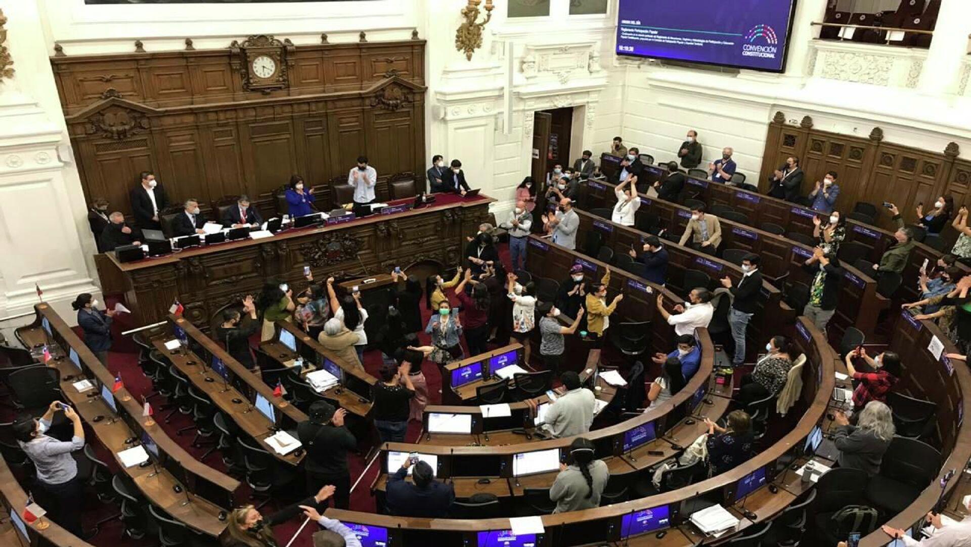 Convención Constituyente de Chile - Sputnik Mundo, 1920, 08.10.2021
