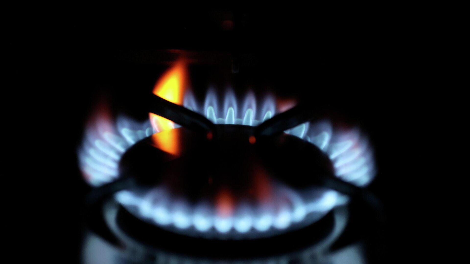 Las llamas de gas doméstico en un estufa - Sputnik Mundo, 1920, 09.10.2021