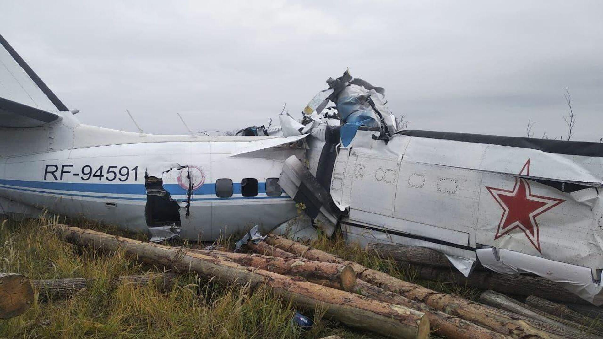 El avión bimotor L-410 estrellado en Tartaristán - Sputnik Mundo, 1920, 10.10.2021